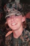USMC veteran Lauren Baca